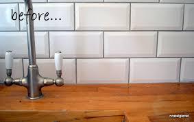 resurface a wooden kitchen worktop