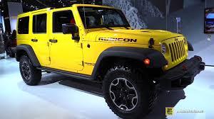 2015 jeep rubicon interior. 2015 jeep wrangler rubicon hard rock exterior and interior walkaround detroit auto show youtube