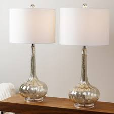 Set Of Two Table Lamps Designer Table Lamps Ebay Modern Small Crystal Table Lamps Brief