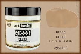 Ge Sso Login Finnabair By Prima Art Basics Heavy Gesso Clear