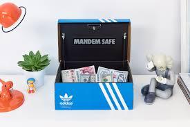 adidas BOOST Shoe Box Safe Mandem
