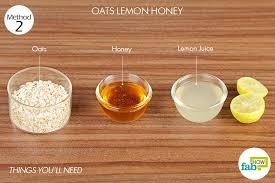 method 2 oats lemon honey