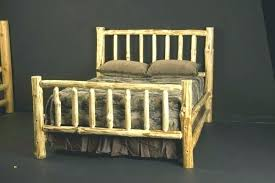 Log Queen Bed Frame Videos Log Queen Size Bed Frame – mgrariensgroep ...