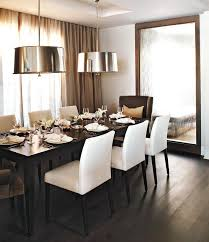 dining room recessed ceiling shiny pendants and wall to wall ds love