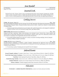 Chef Resume Templates With Pastry Chef Resume Examples Examples Of