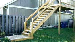 prefab wooden steps outdoor ready made outdoor stairs prefabricated prefab wood deck stairs