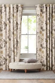 Next Bedroom Curtains Buy Cotton Sateen Wild Hedgerow Blackout Eyelet Curtains From The