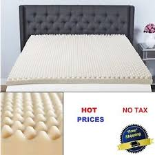 Egg crate foam mattress pad Base Image Is Loading 3inmemoryfoammattresstoppersleepconvoluted Ebay In Memory Foam Mattress Topper Sleep Convoluted Pad Bed Cover Egg