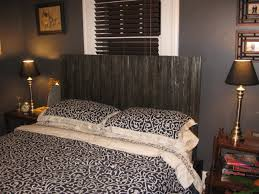 Cheap Diy Headboards Furniture Wonderful King Headboard Design Ideas With Dark Brown
