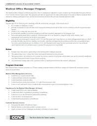 Medical Office Manager Sample Resume Useful Materials For Medical ...