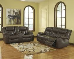 Leather Reclining Living Room Sets Buy Ashley Furniture Carnell Reclining Living Room Set