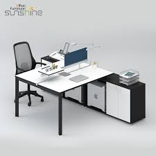office working table. 2 Person Face To Workstation Office Table Work Station Desk  BY-W2301 Office Working Table