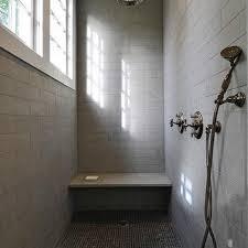 shower bench ideas