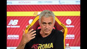 CONFERENZA STAMPA | Mourinho alla vigilia di Verona-Roma - YouTube