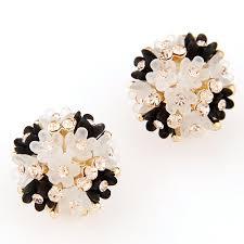 natural gemstone earrings resin earring