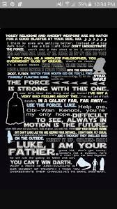 Best Star Wars Quotes Classy Collection Of Some Of The Best Star Wars Quotes Star Wars