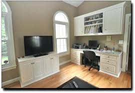 custom made home office. Built In Office Cabinets Home Installed Oak Hill Matching Cabinet Custom Made Desk