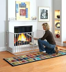 decoration amazing baby proof fireplace brick hearth