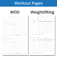 Work Out Journal Lace Up