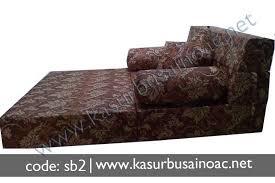 sofa lipat. sofa bed motif bunga lipat k