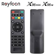 Genuine Remote Control For X96 X96mini X96W Android TV Box IR Remote  Controller For X96 mini X96 X96W Set Top Box|Remote Controls