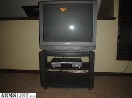 sony tv dvd combo. 32\u201d sanyo television, zenith dvd player, and stand for sale. this tv/dvd combo works great includes both remotes along with a spare universal sony tv dvd