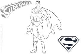 Small Picture Superman Logo Coloring Page Interesting Superheroes Coloring