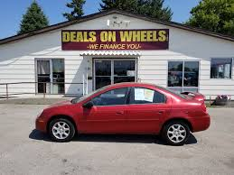 deals on wheels used bhph cars missoula bad credit auto loans 2004 dodge neon sxt