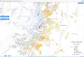 racial dot map of austin  xpost rinternetisbeautiful  austin