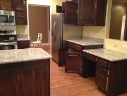 Impressive Painted Brown Kitchen Cabinets Before And After Home Throughout Creativity Design