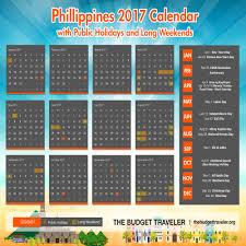 Travel Calendar Philippines 2017 Travel Calendar The Budget Traveler