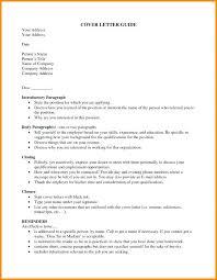 Cover Letter To Specific Person Cover Letter Unknown Recipient
