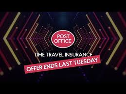 time travel insurance from post office
