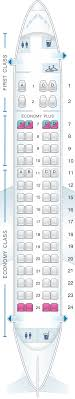 Embraer Regional Jet Seating Chart Aircraft Erj 145 Seating Chart The Best And Latest
