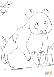 Small Picture Cute Panda coloring page Free Printable Coloring Pages