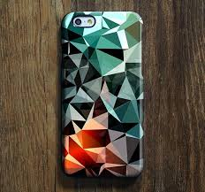 Green Triangle Geometric iPhone 6s Case Plus 6 Cover 5S 5
