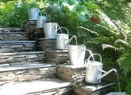 small outdoor water fountains solar water fountain ideas for your garden garden club cascading water