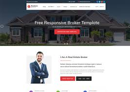 real state template realone real estate broker bootstrap templates ease template