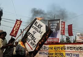 Gasoline Prices Rise in India