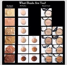 Younique Shade Chart Younique Shade Chart