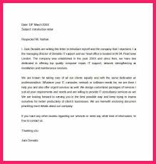 letter of self introduction   science resume Brilliant Ideas of Introduction Letter Job With Sample Proposal