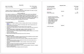 Achievements On A Resumes Project Manager Sample Resume Resume Badak