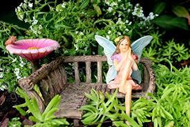 pretmanns fairy garden fairies miniature accessories furniture 7 pieces fairy garden supplies