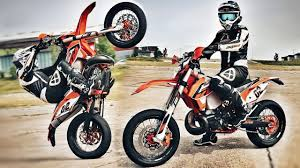 ktm 250 exc supermoto a monster youtube