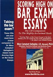scoring high on bar exam essays the cd companion to the book  scoring high on bar exam essays the cd companion to the book mary campbell gallagher j d ph d 9780970608826 com books