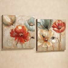 ... Joful Garden Floral Wall Art Canvas Simple Elegant Interior Design Home  Decoration Furniture Hang Contemporary Cheap ...
