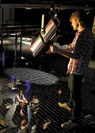 lighting technician. Electric Lights For Art And Entertainment Venues Or In Video, Television, Film Production. A Theater Production, Lighting Technicians Technician N