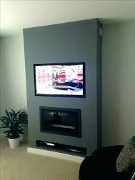 how hide wires behind wall on mounted tv home depot cables best hiding ideas for plan hiding wires mounting above fireplace figure 3 mounted behind wall