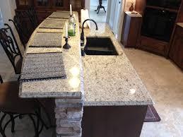 Kitchens With Giallo Ornamental Granite Giallo Ornamental Light Granite Double Ogee Edge Detail