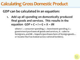 16 calculating gross domestic